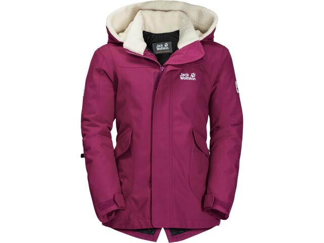 8dcb82f20b Jack Wolfskin G Great Bear Jacket Children pink at Addnature.co.uk